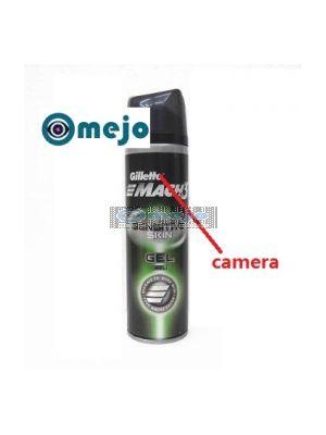 Motion Activated Shaving Cream Hidden Remote Control Bathroom Spy Camera DVR