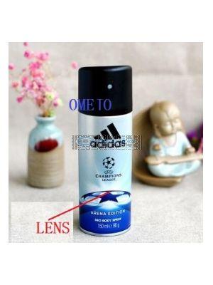 Bathroom Hidden Adidas Men Body Fragrance Spray Bottle Bathroom Spy Camera DVR