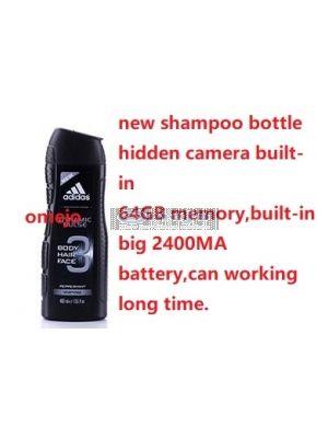 HD 1080P Shower gel Bottle Hidden Spy Camera DVR Camcorder 64GB(Motion Detection)