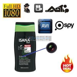 Shampoo Bottle Spy Camera,Shampoo Bottle Hidden Camera 1080P HD Camera DVR