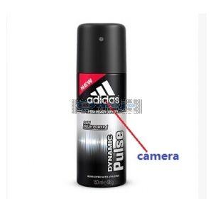HD Bathroom Spy Camera HD Body Spray Bottle New Version 1280x720P