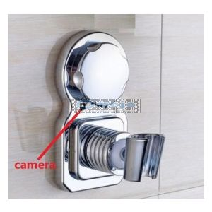 1080P Hidden Camera for Bathroom Waterproof Spy shower rack camera with 32G SD Card